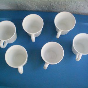 Corning Dining - Vintage Lot of 6 Corning  Made In USA, Milk Glass